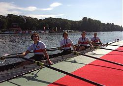 So sehen Siegerinnen aus, Duisburg 2012