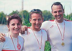 Masters Sieger-Trio