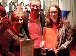 Birgit, Jan und Christiane