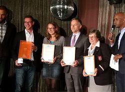 Preisträger des Sparda-Bank Hamburg Awards 2016