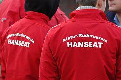 Alster-Ruderverein Hanseat in rot-weiss