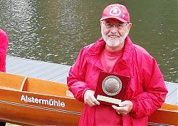 Äquatorpreisträger 2019 Klaus-Henning Mühlenbrook stiftet das neue Boot ALSTERMÜHLE